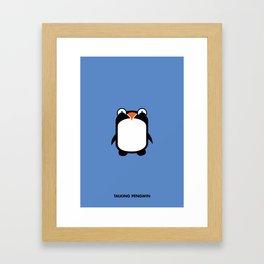 Pengwin (Penguin) Framed Art Print