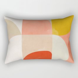 Shapes abstract II Rectangular Pillow