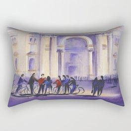 The Bike Tour Budapest Rectangular Pillow
