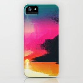 digital beachhead iPhone Case
