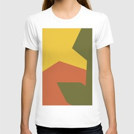 Minimalism Abstract Colors #6 T-shirt