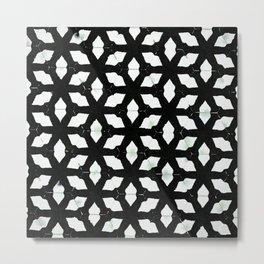 Below the Grid Metal Print