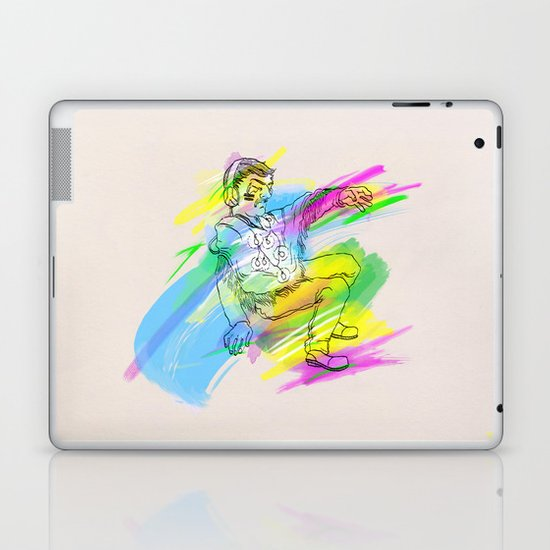 """Inspector Norse"" by Virginia McCarthy & Cap Blackard Laptop & iPad Skin"