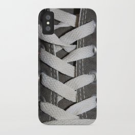 All Laced Up And Nowhere To Go iPhone Case