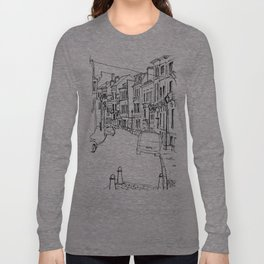 Brussels Streetscape Long Sleeve T-shirt