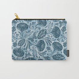 Arabella - Washed Indigo Carry-All Pouch