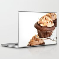 nutella Laptop & iPad Skins featuring nutella cup cake by anna ramon photography