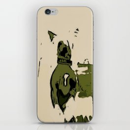 Chinese crested 3 iPhone Skin