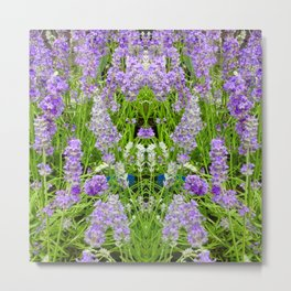 The Lavender Throne Metal Print