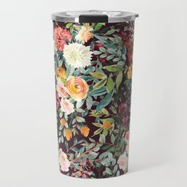 Fall Floral Travel Mug