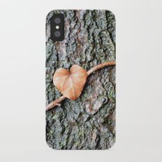 Heart and tree Slim Case iPhone X