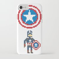 steve rogers iPhone & iPod Cases featuring Steve Rogers by Bryan