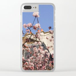 French Wildflowers Clear iPhone Case