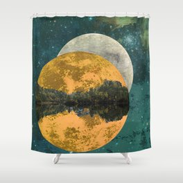 Because of parallel possibilities Shower Curtain