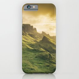 Mesmerized By the Quiraing IV iPhone Case