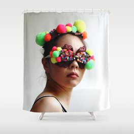 Coloring You Shower Curtain