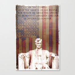 United Lincoln Canvas Print