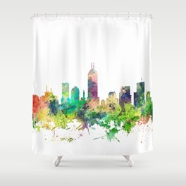 Indiana, Indianapolis Skyline SP Shower Curtain