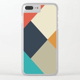 Daytime Abstract Clear iPhone Case