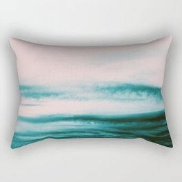 Ocean Romance #1 #abstract #decor #art #society6 Rectangular Pillow