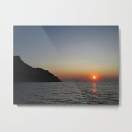 Sunset II Metal Print