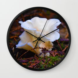 Forest Fungi in Revelstoke National Park, Canada Wall Clock