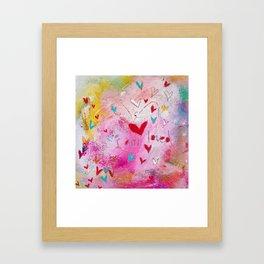 I am Loved Framed Art Print