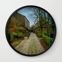 Cottages and Cobbles Wall Clock