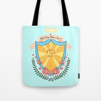 kendrawcandraw Tote Bags featuring Tyler Posey Defense Squad by kendrawcandraw