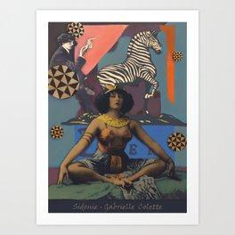 Colette II Art Print