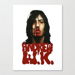 Andrew WK Canvas Print