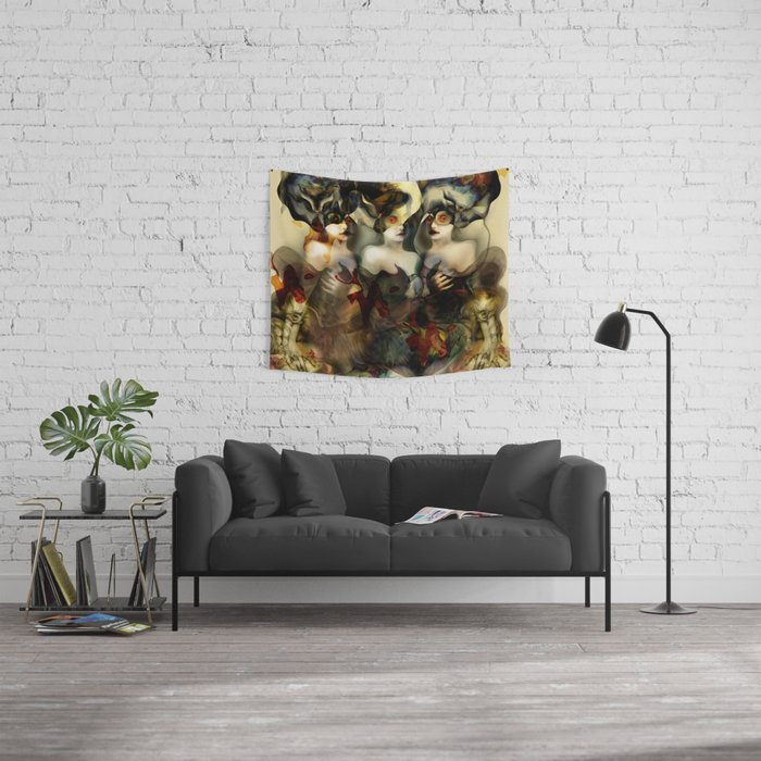 """""""Hydra (or The Bitch)"""" Wall Tapestry"""