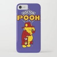 pooh iPhone & iPod Cases featuring Doctor Pooh by cû3ik designs