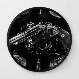 357 Magnum Wall Clock