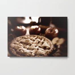 Old Fashioned Apple Pie Metal Print
