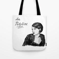 Delphine Seyrig Portrait Tote Bag