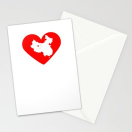 Heart China | Love China Stationery Cards