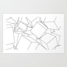 Cuberic Art Print