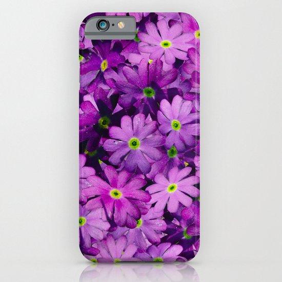 Purple Wild Flowers iPhone & iPod Case