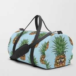 Pineapple Pomeranian Duffle Bag