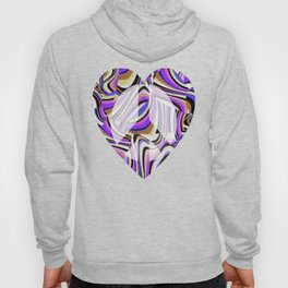 Retro Renewal - Purple Waves Hoody