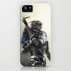 A busy Turian iPhone (5, 5s) Slim Case