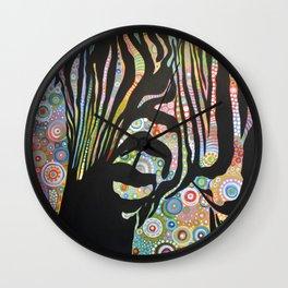 Abstract Art Animal Zebra Painting ... Urban Jungle Wall Clock