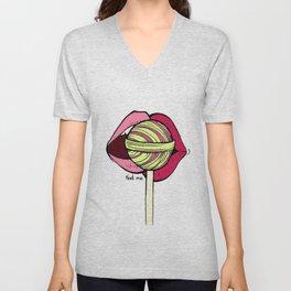 Lollipop[2] Unisex V-Neck