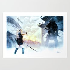 A Penchant For The Epic Art Print