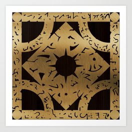 Lament Configuration Side F Art Print
