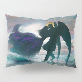Angel romance embrace Pillow Sham