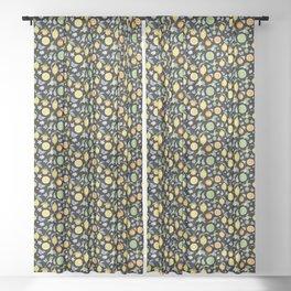 Citrus Grove Pattern Sheer Curtain