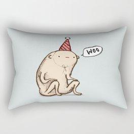 Honest Blob - Woo Rectangular Pillow