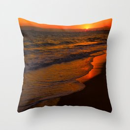 owsunset Throw Pillow